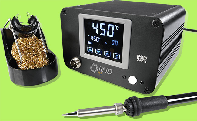 Soldering Equipment with Iron